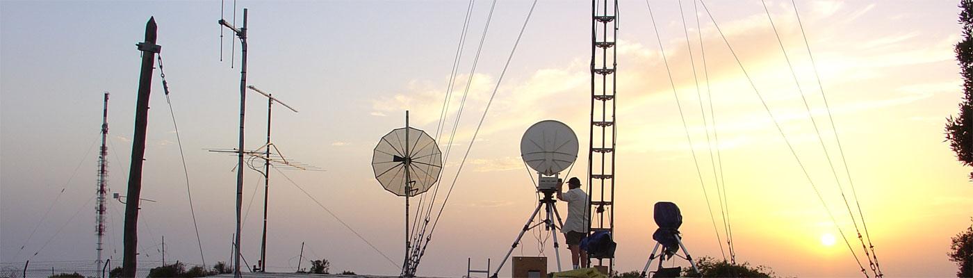 Long range SHF communications